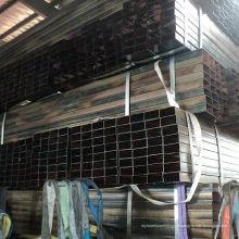 Black Square Pipe dans l'usine de Tianjin