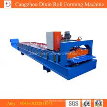 Stehfalz-Metalldach-Herstellungsmaschine