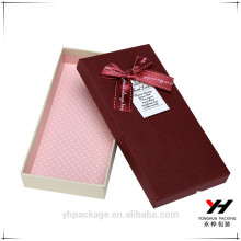 Yonghua bon prix et boîtes de cadeau oblong de qualité supérieure