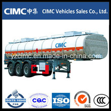 Cimc 3 ejes 45tons Depósito de combustible 42000 litros