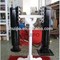 Weld Gearbox Inboard Handle Hydraulic Landing leg/Hydraulic Landing gear made by shuipo/Hydraulic Landing leg for trailer