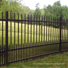 Palisade Wrought Iron Fence for Protection