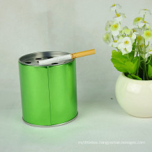 Tin Ashtray, Tin Box, Metal Box