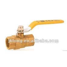 J2041 Brass Gas Ball Valve F/F
