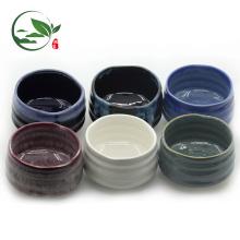 Conjunto de tigelas de chá de cerâmica de mistura grande Matcha