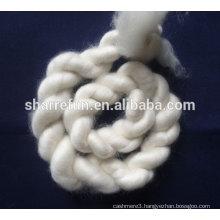 100% dehaired Inner Mongolia cashmere tops white