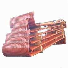 Serpentines de agua de caldera de superficie de calentamiento por evaporación