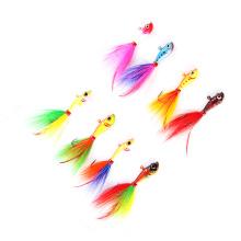 BJL001 wholesale fishing tackle fishing lure bucktail jig