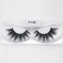 3D 5D 25mm Faux Mink Eyelashes Vendor False Korean Silk Synthetic Eye Lash