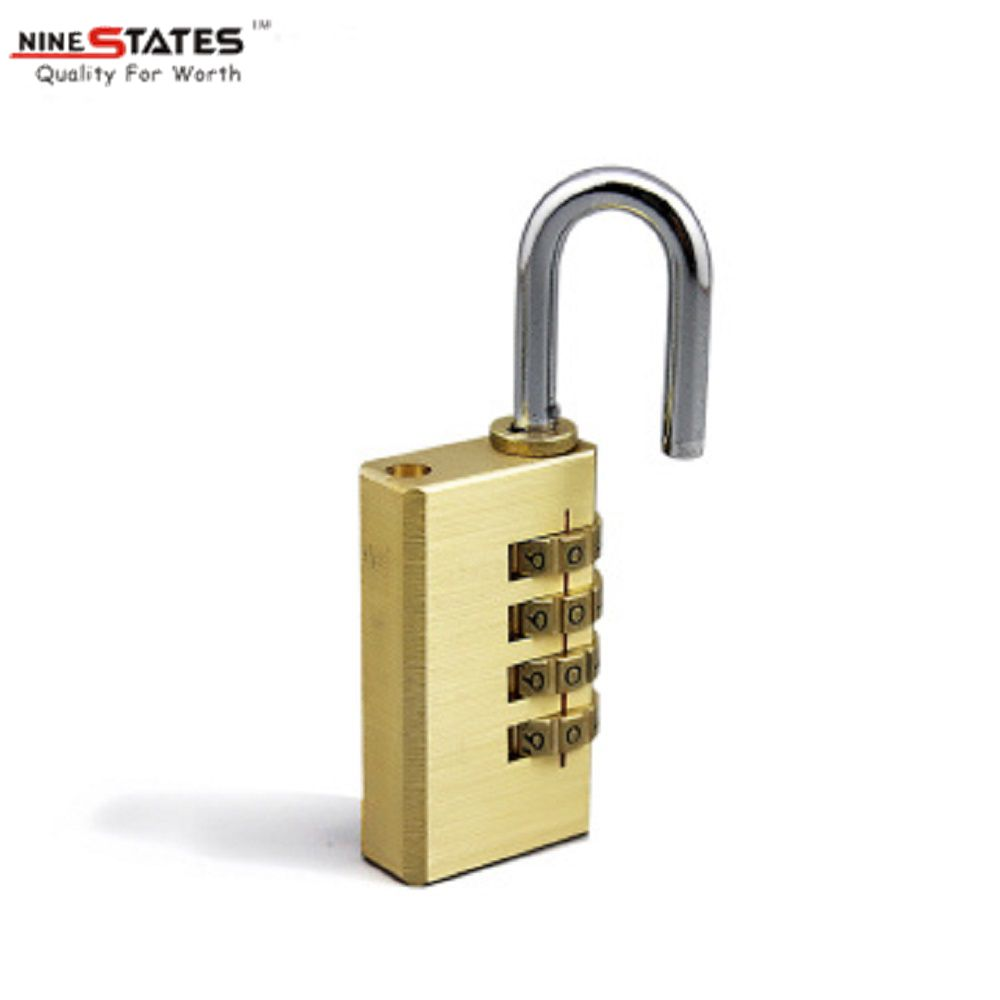 21MM 4 Digit Brass Lock Password Padlock