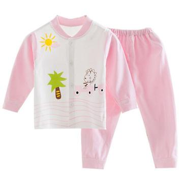 Simple cómodo 100% algodón bebé ropa interior conjuntos