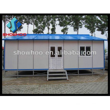 Qingdao Showhoo Low-cost One storey High Quality Prefab House Price for Living and Working