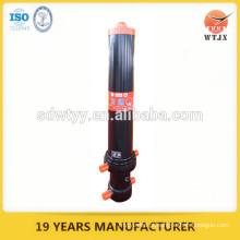 Cilindro telescópico hidráulico de grua de descarga garantida pela qualidade
