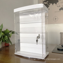 Acrylic spinning  rotatable  Display racks lockable  show cases for  Jewelry watches  sunglasses