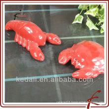 crab shape ceramic salt pepper set