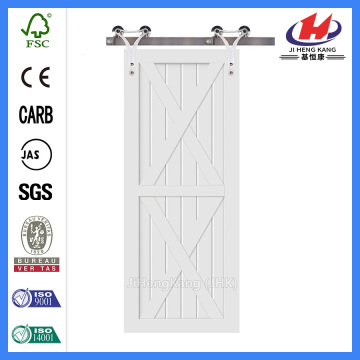 *JHK-SK11 Wood Barn Door Real Barn Doors Painted Barn Doors