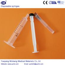 Устранимый стерильный шприц 2 мл с иглой (ЕНК-ДС-068)