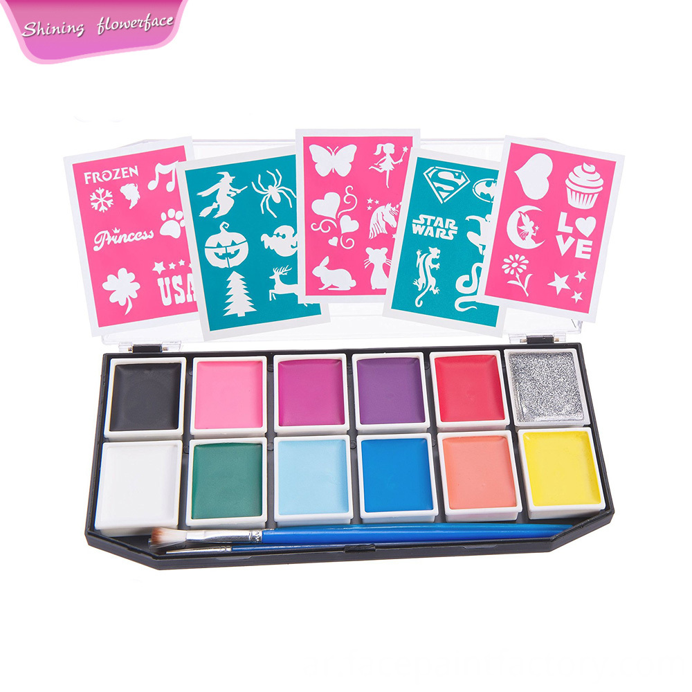 Face Paint 12 Colors