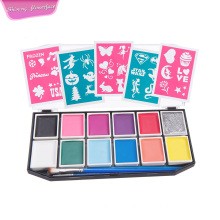 Skin harmless kids Face Painting palette
