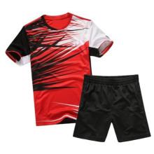 नए डिजाइन बैडमिंटन टी शर्ट रिक्त बैडमिंटन जर्सी थोक बैडमिंटन खेल पहनते