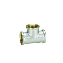 Screw Fittings of Equal Tee F/F/F (I)