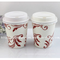 Customized Printed Single Wall Paper Cup with Lid (Hot-Selling) -Swpc-52
