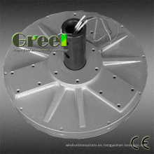 Generador de imán permanente de Coreless disco de flujo axial para aerogenerador