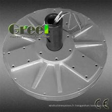 Générateur à aimant Permanent disque sans noyau Flux axial pour éolienne