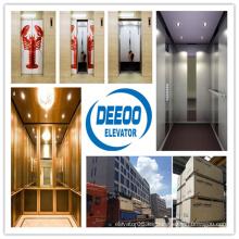 Ahorro de espacio innovador elevador residencial de pasajeros