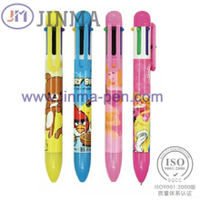 Os presentes da promoção Aplstic Multi-Color Ball Pen Jm-M014