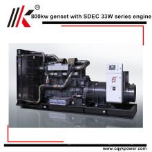 Schalldichter Generator mit Thermoelektrischer Generator und Stirlingmotor