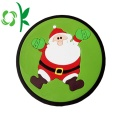 Christmas Resistant Silicone Cup Coaster Cup Place Mat