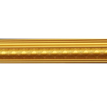 7cm European Artistic Mould Golden Cornice Decorative Material