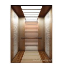 Elevator rose gold cabin wall elevator