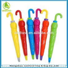 Guarda-chuva de plástica em forma de caneta para promoção