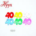 HYYX lentejuelas plata sueltas / paillette al por mayor