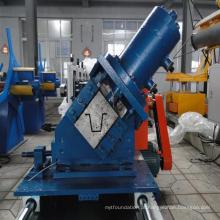 Máquina de prensagem de sarrafo de telhado de estrutura de aço