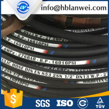 JIC male end Steel Multi Spiral SAE 100R12 hydraulic hose