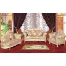 Fabric Sofa with Wood Sofa Frame (153B)