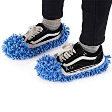 Limpiador de la casa Piso perezoso Limpieza del polvo Limpieza del pie Cubierta de la zapatilla Fregona para el polvo Zapatilla