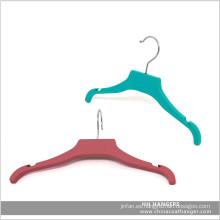 """11"""" goma suave niños bebé plástico perchas de ropa"""