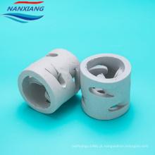 Embalagens de cerâmica aleatória 50mm cerâmica pall anel