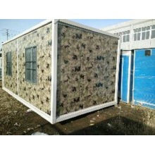 Movable House Made up of New Color Material