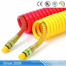 preço de fábrica alta elasticidade colorido macio plástico TPU flexível tubo de marcação de cabo de impressão