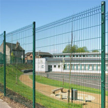 Leading for 3D Fence powder coating square post metal fence supply to Slovakia (Slovak Republic) Importers