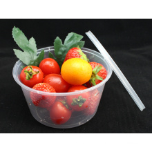 450 Ml 500 Ml 650 Ml Disposable Plastic Food Container