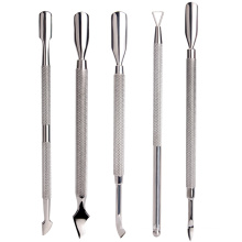 Wholesale Triangle Cuticle Stainless Steel Cuticle Pusher