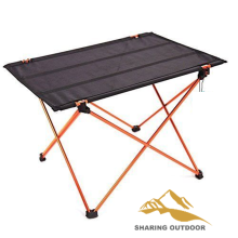 Good Quality for Outdoor Folding Chair Folding Desk Aluminum Alloy Table supply to Togo Suppliers