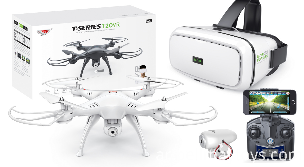 RC Quadcopter With VR