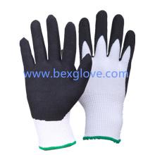 13 Gauge Anti-Cut Liner, Résistance à la coupe Niveau 3, Hppe / Spandex / Nylonblade résistant à la coupe, gant de travail